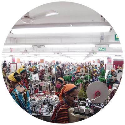 Kledingfabriek Bangladesh
