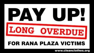 Financieringstekort voor Rana Plaza compensatiefonds