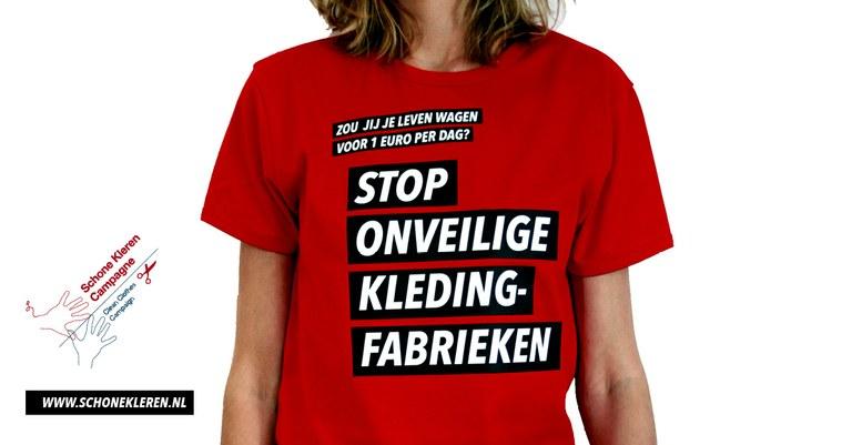 Stop onveilige kledingfabrieken in Bangladesh