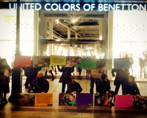 Actie Benetton Barcelona