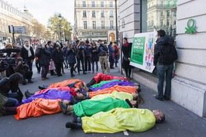 Benetton actie Parijs
