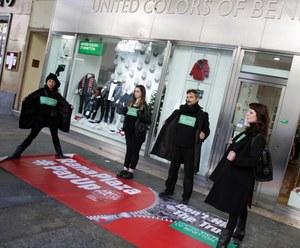 Benetton actie Turijn