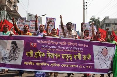 Demonstratie in Bangladesh