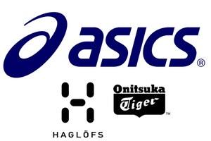 Merken: Asics, Onitsuka Tiger, Haglöfs