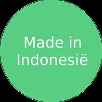De productie van stoffen en textiel in Indonesië is al eeuwenoud. In de negentiende eeuw waren felgekleurde  batikstoffen al erg populair in Nederland. Pas vanaf de jaren 1970 werd grootschalige kledingproductie belangrijk voor de economie die zich in de jaren daarna snel ontwikkelde. Tegenwoordig telt het land zo'n 2980 kledingfabrieken, waarvan 90% zich op het eiland Java bevinden. Indonesië staat in de top tien van belangrijkste kledingproducerende landen.