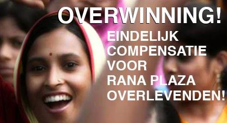 We zijn verheugd te kunnen melden dat het doelbedrag van 30 miljoen dollar is bereikt. Door deze overwinning kunnen alle slachtoffers en nabestaanden van rampfabriek Rana Plaza nu de schadevergoeding ontvangen waar zij recht op hebben.