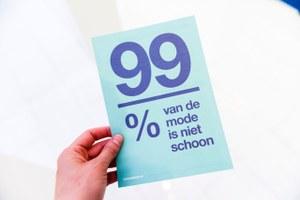 Flyer: Wij willen schone kleren!