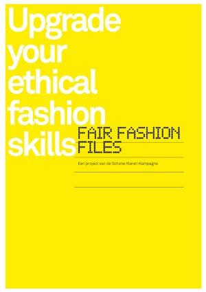 Fair Fashion Files: infosheets over schone kleren in de kledingindustrie
