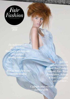 Fair Fashion magazine: glossy voor en door studenten in het modeonderwijs
