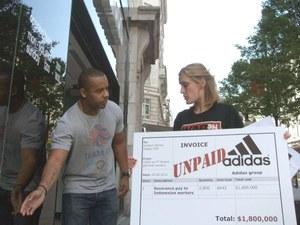 Adidas gooit de deur dicht voor Kizone activisten