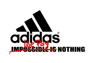 Vertel adidas 'Nothing is impossible'
