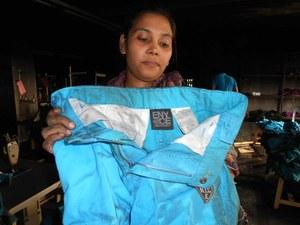 Labels van C&A en Sean Combs' ENYCE gevonden na brand in Bengaalse kledingfabriek