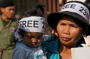Gearresteerde Cambodjaanse stakers blijven in de cel