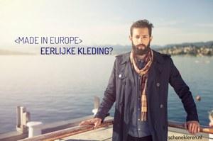 """Ook """"Made in Europe"""" geen garantie voor eerlijke kleding"""