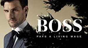 Een echte BOSS betaalt een leefbaar loon
