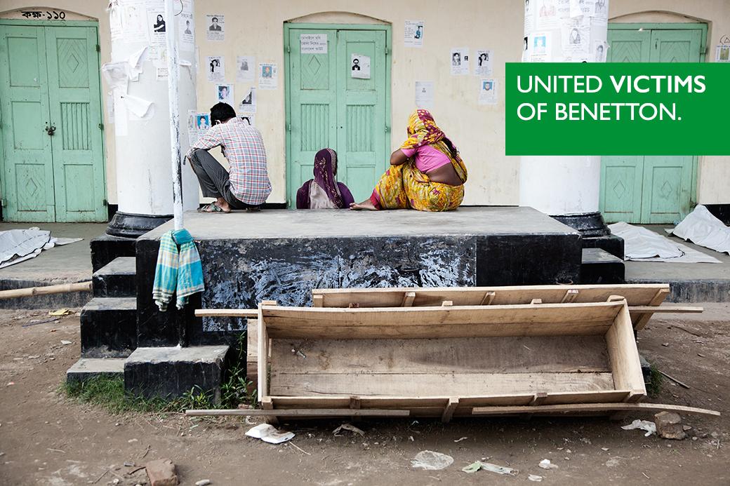 Benetton's bijdrage van 1,1 miljoen USD aan het compensatiefonds schiet ernstig tekort