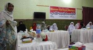 Pakistan: trainingen voor thuiswerksters