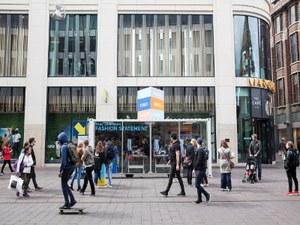 Pop-up sweatshop in Den Haag