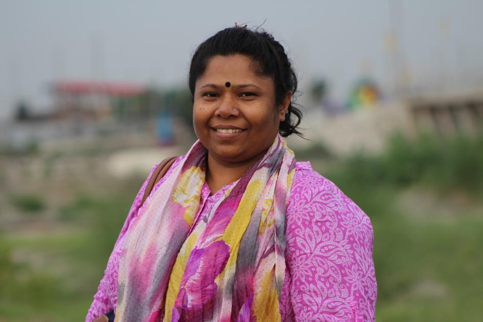 Meet Kalpona Akter human rights defender uit Bangladesh