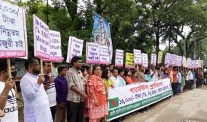 Schandelijk laag nieuw minimumloon aangekondigd in Bangladesh