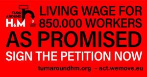 Minister Kaag wil met H&M in gesprek over leefbaar loon